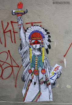 Native Liberty by Miss Me Freeman Alley, NYC