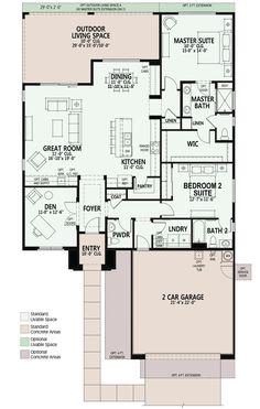 Popular Ideas The Barndominium Floor Plans & Cost to Build It 2 Bedroom House Plans, Cabin House Plans, New House Plans, Dream House Plans, Small House Plans, House Floor Plans, Building Plans, Building A House, Small Floor Plans