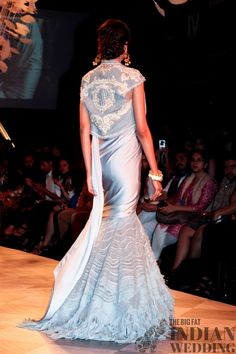 stunning gown | Tarun Tahiliani | Lakme Fashion Week 2014 #indianfashion