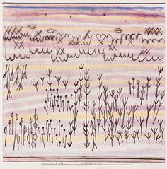 Paul Klee (Swiss, 1879 - 1940) Dunes (Dünenbild), 1924