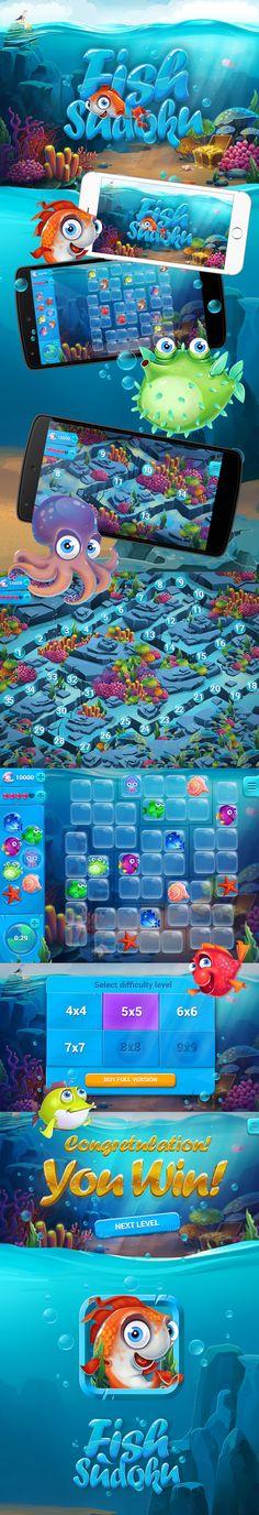 Fish Sudoku on Behance