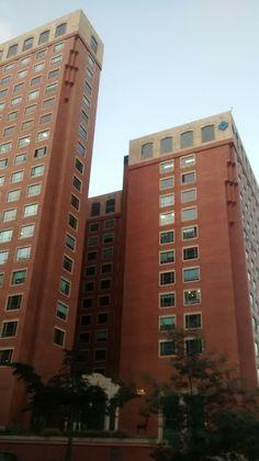 Torres Banco BBVA y Credencial, en el sector financiero, en Bogotá.