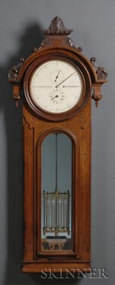 Sold for: $143,500 - E. Howard & Co. No. 36 Wall Regulator