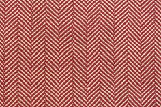Jipijapa Herringbone Upholstery Fabric Bold herringbone cotton upholstery fabric in red and oat.  Suitable For Upholstery, Soft furnishings and curtains.