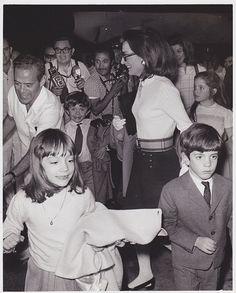 Princess Lee Radziwill (Bouvier) & Jackie, Caroline, John Kennedy ...