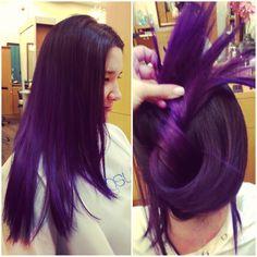 Purple ombre!