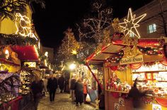 Christmas Market in Basel, Switzerland