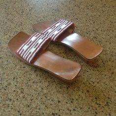 Selling this Fair Trade Beaded Sandals in my Poshmark closet! My username is: edwardswife. #shopmycloset #poshmark #fashion #shopping #style #forsale #Shoes