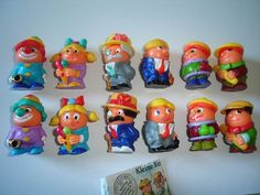 Kinder Surprise Set Ball Heads People Variations Figures Toys Collectibles | eBay