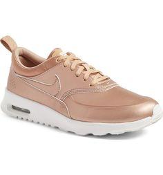 Nike Air Max Thea SE Sneaker (Women) in Metallic Bronze