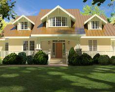 Samuel Sherwood Cleveland, Architect, Arts & Crafts Cottage  http://SSCarchitect.com