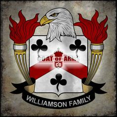Williamson Family Crest - American Coat of Arms