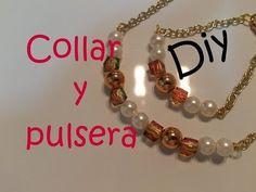 Como Hacer un Collar de Cristales Flotantes DIY Collares de Moda Pintura Facil - YouTube