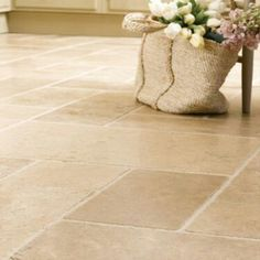 Natural stone floor tiles fired earth
