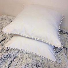 Throw Cushions, Bed Pillows, Décor Ideas, Handmade Home Decor, Cream White, Pillow Covers, Amazon, Pillows, Pillow Case Dresses
