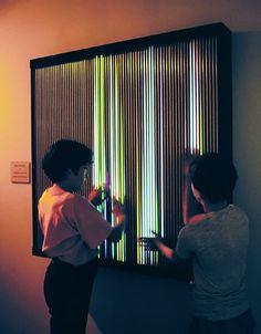Sina Lightworks Interactive by Alejandro and Moira Sina #lightart #lightartaday LIGHT ART A DAY