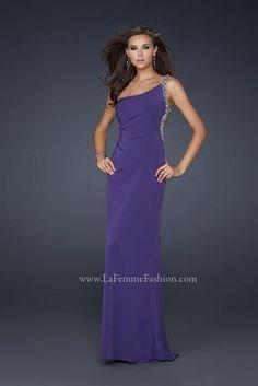 La Femme 17252 at Prom Dress Shop  Shoulder Dress #2dayslook #ShoulderDress #sunayildirim #watsonlucy723    www.2dayslook.com