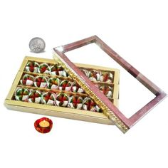 Ghasitaram Diwali Special Dryfruit Anarkali Box - Online Shopping for Diwali Sweet Hampers by Ghasitaram's