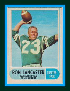 Must be good with a name like Lancaster! Canadian Football League, Best Football Team, American Football, Football Images, Football Cards, Baseball Cards, Go Rider, Saskatchewan Roughriders, Saskatchewan Canada