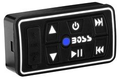 Boss Audio UBAC30 Universal Bluetooth Controller Ideal for Cars ATVs UTVs Boats Boats Motorcycles RVs Golf Carts and Snowmobiles With No Receiver ** Check this awesome product by going to the link at the image. (This is an affiliate link) #CarAccessories