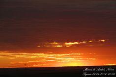 Puesta de sol 26 septiembre de 2016. Segovia.