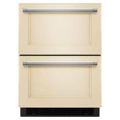 KitchenAid Double Drawer 4.7 cu. ft. Freezerless Refrigerator in Overlay Panel-Ready, Counter Depth