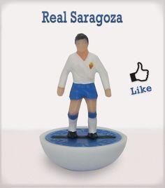 Real Zaragoza #subbuteo #edicola #collection