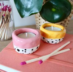 Clay Art Projects, Ceramics Projects, Polymer Clay Crafts, Diy Clay, Diy Crafts Clay, Polymer Clay Ring, Pottery Painting, Pottery Art, Keramik Design
