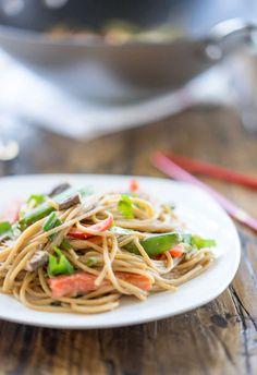 easy 12-minute peanut noodles recipe
