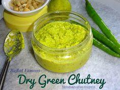 How to make Rajkot's Famous Dry Green Chutney | Spicy Green Peanut Dry Chutney | Spicy Peanut Dry Chutney |Rajkot Green Chutney | R...