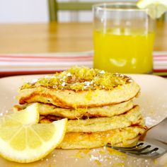 CosmoCookie ...making the Universe a little sweeter.: Cottage Cheese Pancakes with Lemon