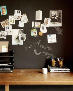 nice Scandinavian Wallpaper & Décor Chalkboard Vinyl Wallpaper With Magnetic Surface Vinyl Wallpaper, Chalkboard Wallpaper, Blackboard Wall, Magnetic Chalkboard, Wallpaper Decor, Wallpaper Roll, Design Shop, Magnetic Paint, Scandinavian Wallpaper
