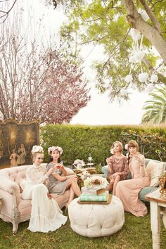 outdoor event, lounge style seating, entertaining; Kim Le Photography