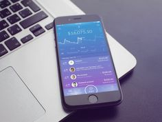 UI/UX Concept of Mobile-Only Challenger Bank by UX Design Agency