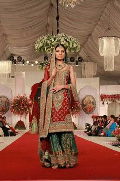 Mehdi Collection at Pantene Bridal Couture Week 2013