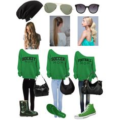"""Sporty Moms"" by rainyday112111 on Polyvore"