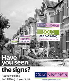 Victorian terraced housing street scene flyer. #EstateAgencyLeaflets #Leaflets