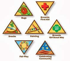 Troop Leader Mom: Getting Started with Daisy Girl Scouts (and Brownies Too!): Brownies: Being Girl-Led & Choosing Badges/Patches