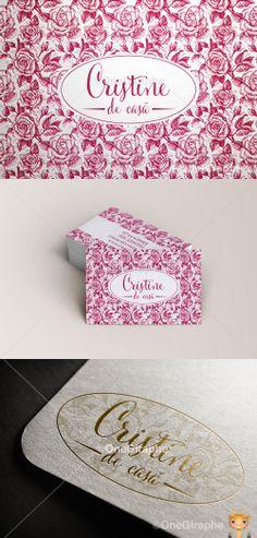 Cristine de casa www.cristine.ro #cake #cupcake #cake #bake #bakery #logo #portfolio #design #graphic #graphicdesign #designer #cute #cake #stand #cupcake #pink #behance #logopond #brandstack #bestdesigner #brand #identity #brandidentity #gold #clasic #portfolio #professional