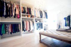 Huge walk-in closet | http://www.modewahnsinn.de/