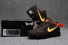 We Are Your Right Choice to get Factory Nike Air Max 2018 Top Running Shoes Brown Yellow For Men Cheap Store Sneakers N Stuff, Air Max Sneakers, Sneakers Nike, Yellow Sneakers, Leather Sneakers, Men's Leather, Sneakers Design, Women's Sneakers, Quilted Leather