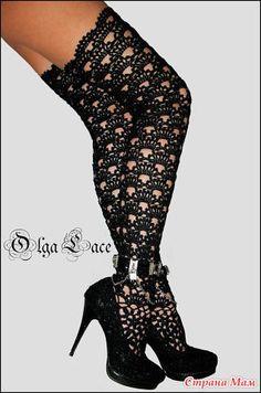 Crochet Boot Socks, Crochet Boots Pattern, Crochet Leg Warmers, Lace Socks, Crochet Slippers, Crochet Cardigan, Crochet Lace, Lingerie Outfits, Women Lingerie