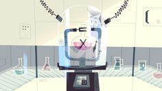 "kevindart:  The Professor's Lab - Backgrounds from the Powerpuff Girls Special ""Dance Pantsed"""