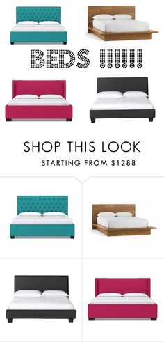 """""""Beds"""" by mamagonon on Polyvore featuring interior, interiors, interior design, home, home decor and interior decorating"""
