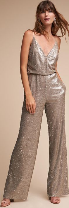 44 Awesome Glam Jumpsuit Outfit Ideas Reflects Your Youth Soul Fashion 2018, Runway Fashion, Fashion Trends, Chico Clothing, Silvester Outfit, Fiesta Outfit, Stylish Outfits, Fashion Outfits, New Years Eve Outfits