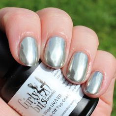 Girly Bits Silver Chrome Powder