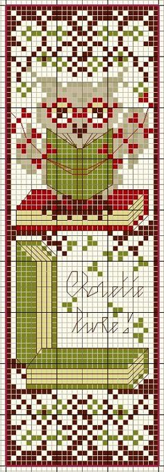 Italic font for English VersionQueda menos de un. Cross Stitch Owl, Cross Stitch Boards, Cross Stitch Bookmarks, Cross Stitch Designs, Cross Stitching, Cross Stitch Embroidery, Cross Stitch Patterns, Bag Patterns To Sew, Sewing Patterns