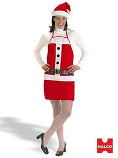 Holiday Apron & Hat Set Costume from Windy City Novelties Reindeer Costume, Santa Costume, Costume Shop, Mardi Gras Costumes, Christmas Costumes, Halloween Costumes, Adult Costumes, Costumes For Women, Great Costume Ideas