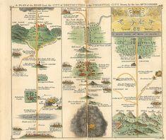 Mapping the Pilgrim's Progress