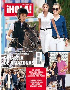 ¡Hola! Chile, No. 99, July 2016 #CharlotteCasiraghi #MonegasqueRoyals #RevistaHolaChile